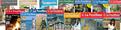 Magazine chasse aux trésors Le Fouilleur